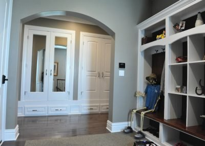 Mudroom with Boot Bench