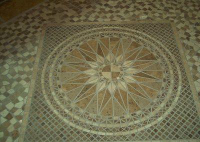 Mosaic Entryway Floor