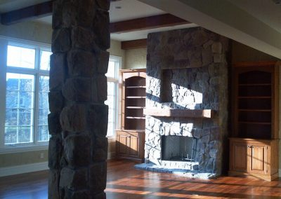 Great Room Hearth and Fireplace