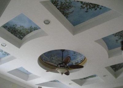Remodeled Entry Ceiling